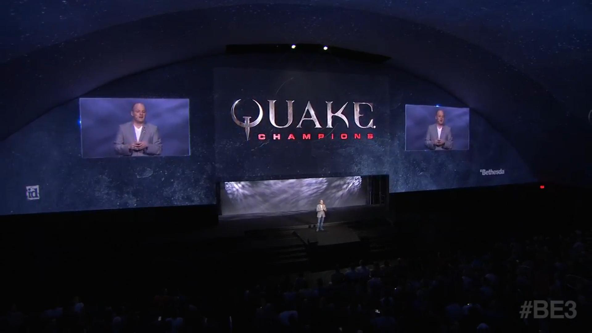 quake champions pressekonferenz bethesda e3